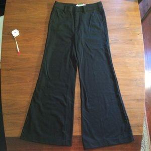 AnthropologieHigh Rise Wide Leg Dress Pants